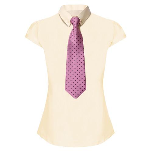 Lace Stretch Show Shirt - Buttermilk UK8 / US4