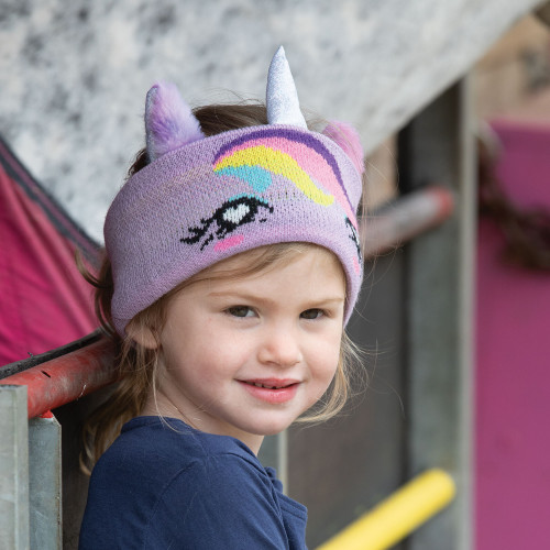 Childs Twilight Unicorn Knit Headband