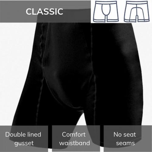 Mens Boxers - Classic Black L