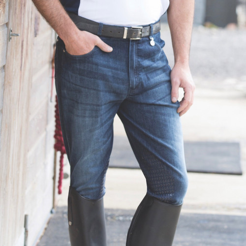 Mens Denim Breeches