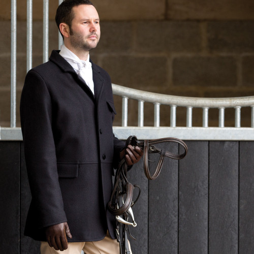 Mens Hunt Wool Frock Coat