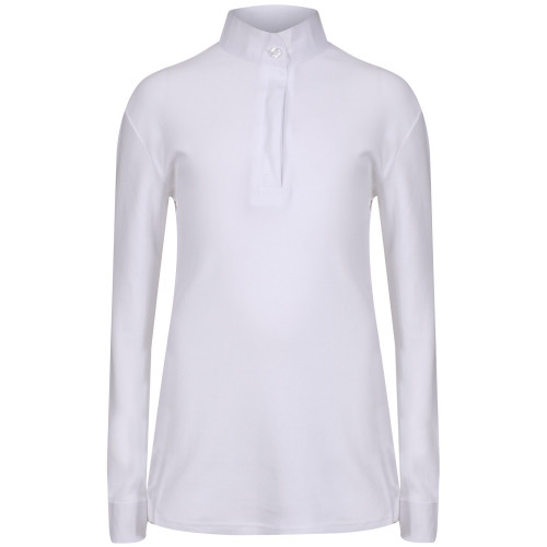"Mens Thermal Cosy Stock Shirt - White S(15.5"")"