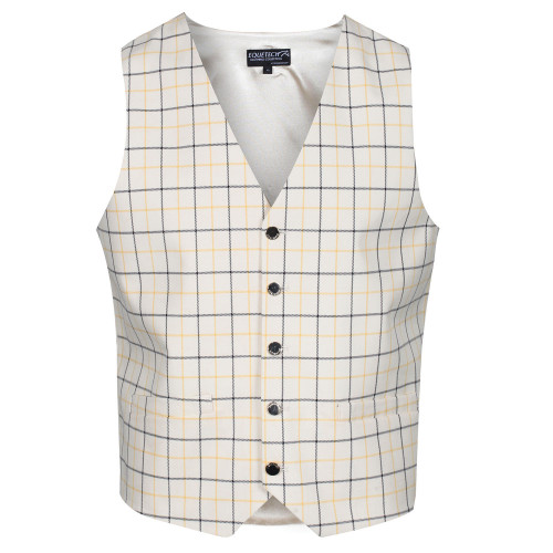 Mens Classic Tattersall Check Waistcoat