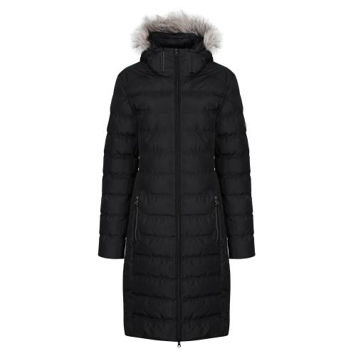 Revive Long Padded Coat - Black XXL