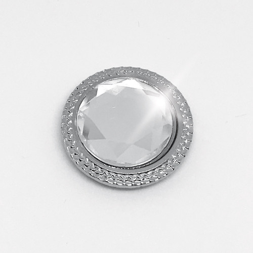 Rock Crystal Magnetic Stock PIn