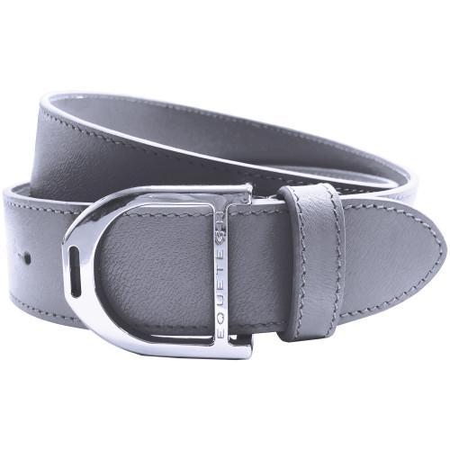 Stirrup Leather Belt - Grey Grain / Large 100cm