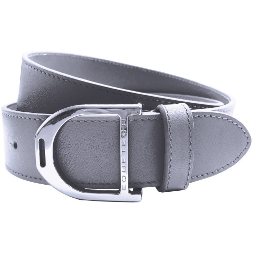 Stirrup Leather Belt 35mm - Grey