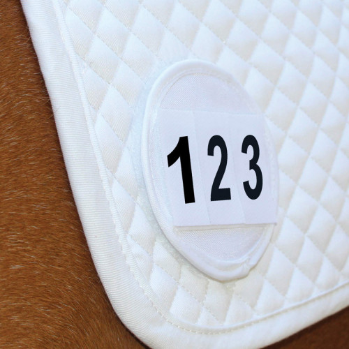 Saddle Cloth Number Holders