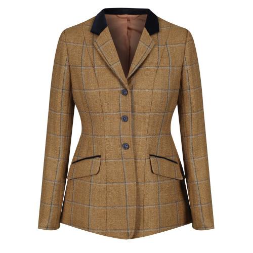Studham Deluxe Tweed Riding Jacket - Biscuit 32