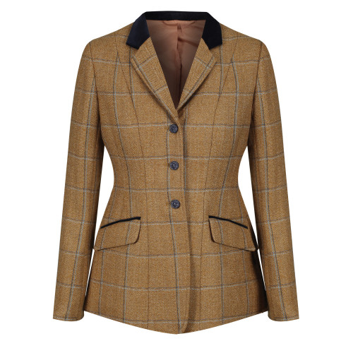 Studham Deluxe Tweed Riding Jacket - Biscuit 32