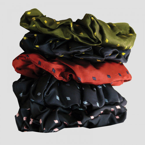 Hair Scrunchies - Diamond Design