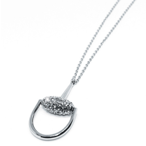 Snaffles Bit Diamante Necklace
