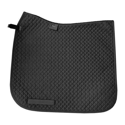 Dressage Saddle Pad - Black L