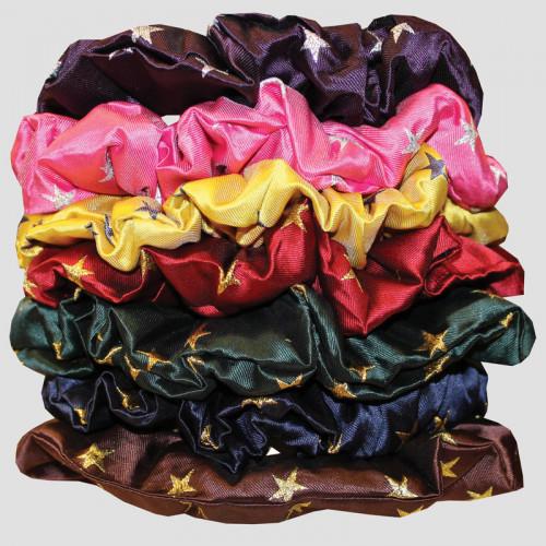 Hair Scrunchies - Stars Sale colours