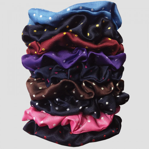 Hair Scrunchies - Polka Dot Sale colours