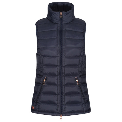 Thermic Padded Gilet - Navy/ Rose Gold XS