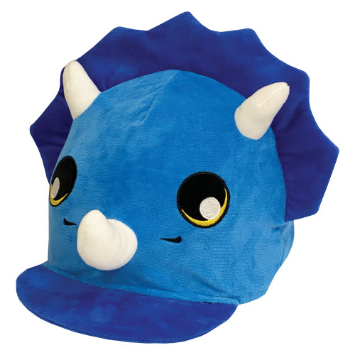 Childs Tyrone Triceratops Hat Silk - Blue O/S