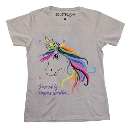 Childs Unicorn Tee - Plain
