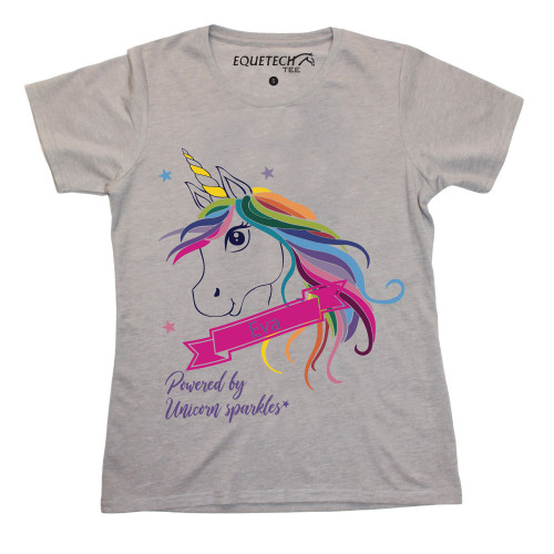 Childs Unicorn Custom Tee (Add your name)