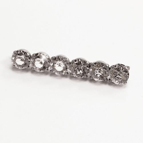 Vintage Crystal Stock Pin