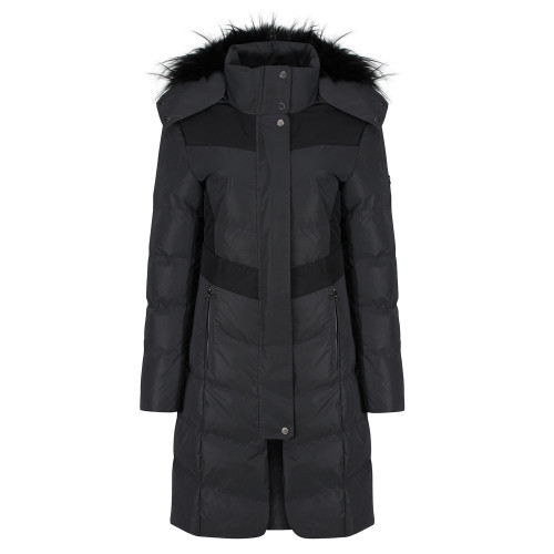 Vision Long Padded Coat - Reflective/Black XS