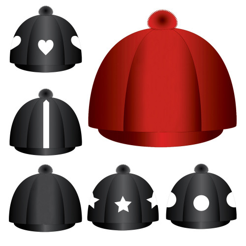 Custom Lycra Hat Silk -  Red