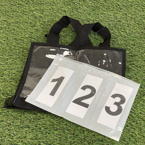 Eventing Competition Bib Numbers - White / Pair