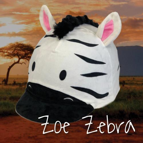 Zoe Zebra Hat Silk
