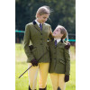 Adstock Deluxe Tweed Riding Jacket - Green (Lilac/Navy check) 38