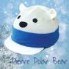 Pierre Polar Bear Hat Silk - White O/S