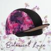Botanical Mesh Hat Silk - Black/Rose Gold O/S