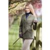 Claydon Tweed Riding Jacket - Green 32