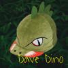Childs Dino Hat Silk - Green O/S