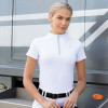Elena Competition Shirt - White UK8 / US4