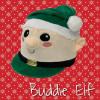 Childs Buddie Elf Hat Silk - Green O/S