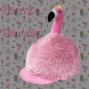 Childs Flo Flamingo Hat Silk - Pink O/S