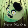 Childs Frank Monster Hat Silk - Green O/S
