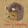 Childs Henry Hedgehog Hat Silk - Bracken O/S