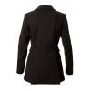 Ladies Hunt Wool Frock Coat  - Black 40