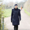 Inferno Long Quilted Coat <Heated> - Navy S
