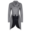 Jersey Deluxe Dressage Tailcoat - Grey 10