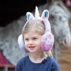 Childs Twilight Unicorn Earmuffs - Lavender O/S