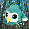 Oscar Owl Hat Silk