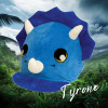 Tyrone Triceratops Hat Silk