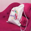 Personalised Unicorn Drawstring Bag
