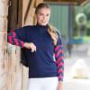 Womens Custom Cross Country Shirt - Airflow Royal L