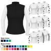 Womens Custom Cross Country Shirt - Airflow Black L