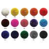 Lycra Hat Silk - Plain Black + button top
