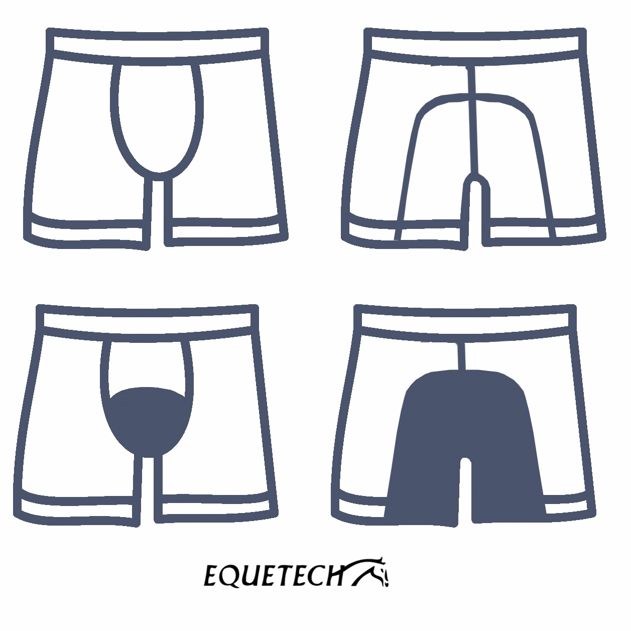 Mens Boxer Shorts padding options